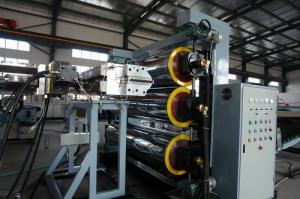 China High Efficiency Automatic Plastic Production Line For PE / PC on sale