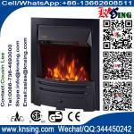 inserção ou calefator de sala dourado de prata de controle remoto da cor do chimenea bonde autônomo do fogão NDY-19CR do calefator da chaminé