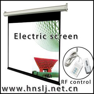 """China El 48"""" más popular; - 300"""" pantalla de proyector motorizada grande/pantalla de proyección eléctrica on sale"""
