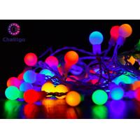 China Waterproof Ball Decorative Indoor String Lights Pure Copper 0.7 Inch Multi Color on sale