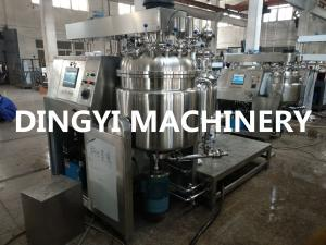China Jet Type Cosmetic Cream Mixing Machine 100L 316L Stainless Steel Material on sale