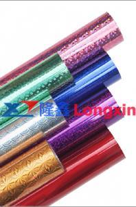 China Folha stmaping quente/folha holográfica para o papel e o plástico on sale