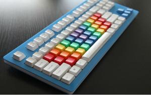 China Plastic Rapid Prototype Spray Paint For Computer Keyboard Accessories on sale