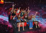 Le parc d'attractions monte le CE interactif de home cinéma de jeu d'enfants
