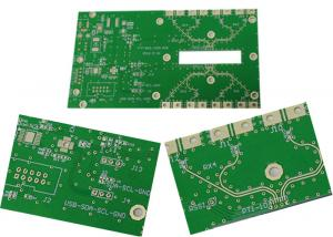 China FR4 UL 94v0 PCB Prototype Customed Electronics Board Green Color on sale