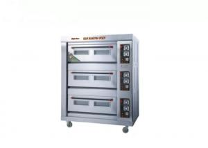 China Stainless Steel 220V 180w 3 Deck Bakery Oven on sale