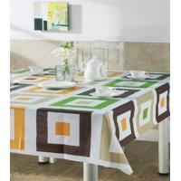Economical Pvc Plaid Table Cloth , Outdoor Table Covers