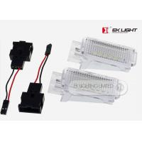 Waterproof Canbus Super Bright License Plate Lights For Audi / Vw
