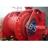 Hydraulic Footstep Piledriver Winch Lebus Drum Offshore Winch For Rotary Drilling Rig