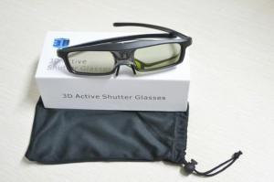 China Active Shutter 3D Glasses Chargeable Quality Eyeglasses For DLP Link HD Projector on sale