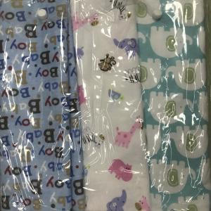 China 100% COTTON FLANNEL BABY BLANKET 75CM*120CM CARTOON DESIGN BALE PACKING on sale