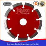 Wet / Dry Cutting 125mm Diamond Tuck Point Saw Blade For Concrete Stone Grooving