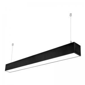 China 7575 Aluminum Profile 40w 1200mm Led Linear Lighting For Supermarket Warehouse on sale