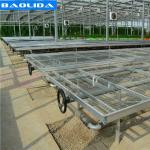 Galvanized Greenhouse Rolling Benches / Greenhouse Benches And Tables