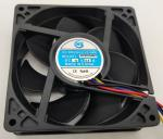 DC 12V 73CFM 7500RPM Equipment Cooling Fans
