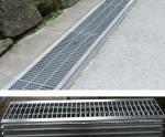 堀の下水管の火格子、排水溝カバー、溝カバー、排水ピット カバーは、格子を堀で囲みます