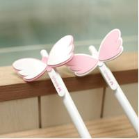 China Personalized Gift Pens With Angel Wings , Novelty Pens Wholesale on sale