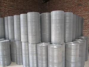 China Silver Low Carbon Steel Welding Wire Mesh / Epoxy Coated Aluminium Wire Mesh on sale