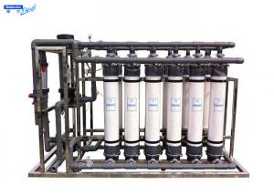 China UF Borehole Water Treatment Ultrafiltration Membrane System Fiber Glass Material on sale