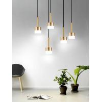 China Modern stylish  aluminum + acrylic ceiling lamp Applicable to living room dining room balcony lamp on sale