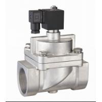 "SS Piston NO High Pressure Air Valve , 20mm 3/4""Solenoid Valve High Temperature"