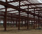 Q235 / Estructuras de acero del edificio del braguero del tubo Q345 de la fabricación durable de acero grande del taller