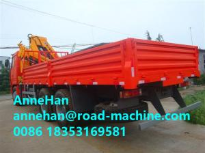 China 25 Tons Truck Mounted Crane 6X4 ZF 8098 Hydraulic Steering With Power Assistance on sale