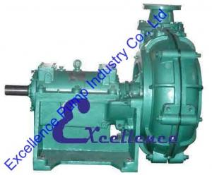 China High Efficiency Mining Centrifugal Slurry Pump Made Of Wear-Resistant Metal on sale