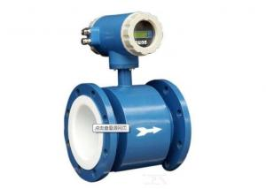 China Electromagnetic Industrial Flow Meter Integral / Split Type For Sewage on sale