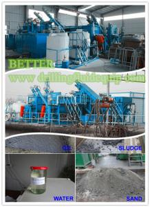 China Waste Oily Sand Sludge Treatment & Recycling System on sale