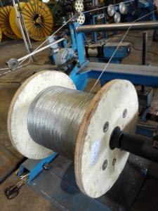 China Galvanized Steel Wire Strand ,EHS, 5000FT/Reel on sale