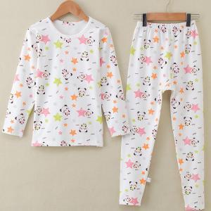 China Children  Long Sleeve Printed C otton Pajamas Homewear  Leisure wear on sale