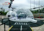 Water - Proof Geodesic Trade Show Tent 6 To 60m Diametre Dome Structure
