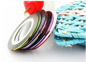 China Colorful Nail Art Stripes Tape Decoration,Self-adhesive Nailart foil  on sale