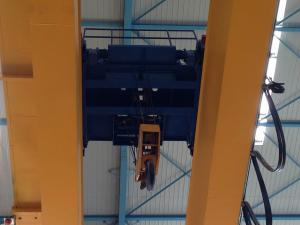 China 30 Ton Double Girder Electric Wire Rope Hoist With Low - Voltage Protection on sale