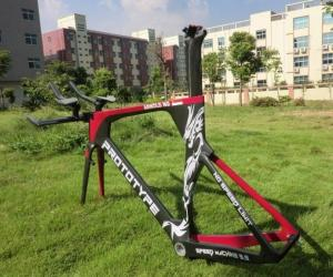Quality BB ( BSA ) or BB30 Carbon Time Trial Frameset , Carbon TT Frame for sale