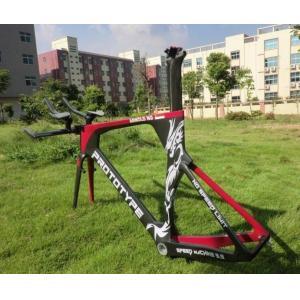 Quality BB ( BSA ) or BB30 Carbon Time Trial Frameset , Carbon TT Frame for sale