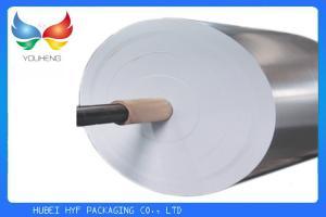China вакуум серебра влажной прочности 69гсм металлизировал бумагу для ярлыков пивной бутылки on sale