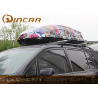 ABS Car Roof Cargo Box Auto Cargo Carrier , 450L Car Roof luggage Box