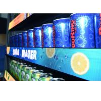 China Promotional Led Lighted Bar Shelves With Strong Protection High Stability Gob Technology on sale