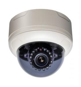 China Black / White 700tvl IR WDR Dome Camera Wide Angle Remot For Families on sale