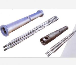 China Corrosion Resistance Parallel Twin Screw Barrel And Double Hole Cylinder PVC Usage on sale