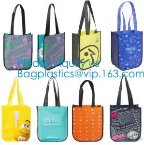 China Promotional Custom Sublimation Recyclable Fabric Carry Non Woven Bag,Folding Reusable Non-woven Shopping Bag, Bagease on sale
