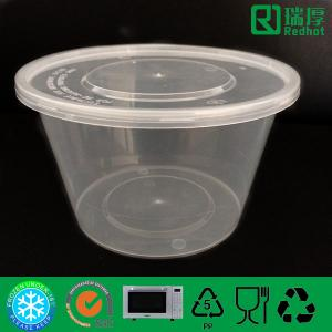 Quality Microwave Safe Pp Plastic Lunch Container 1000ml For