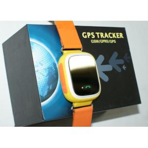China Sporting Wrist Child Tracking Watch Orange GSM With 5m GPS Accuracy on sale