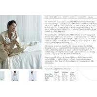 China 100% silk pajamas on sale