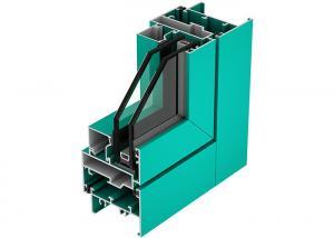 China T5 6063 Aluminium Window Profiles Powder Coating Industrial Aluminum Profile on sale