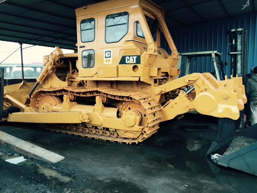 Used Japan made Caterpillar D7 bulldozer CAT D7G dozer with