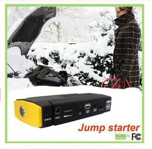 China 12V Multi-function Portable Car Jump StarterWith Auto Booster Battery Charger on sale