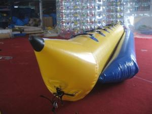 China Ocean Rider Inflatable Water Toys , Inflatable PVC Boat Water Slide for Single Tube on sale